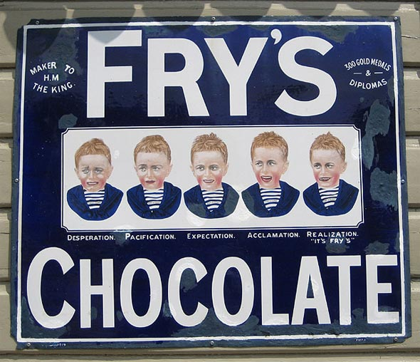 1960s Sweets - Frys Chocolate